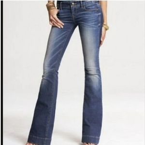 Express Stella fit and flare jean 8 Long